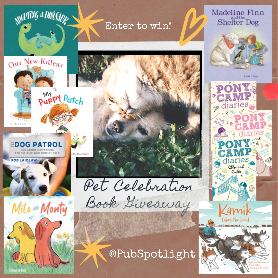 Pet books giveaway
