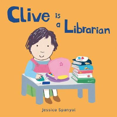Clive Is a Librarian cover