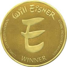 Eisner Award seal