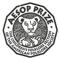 Aesop Prize seal from the Children's Folklore Section of the American Folklore Society