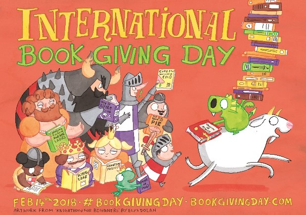 International Book Giving Day 2019 poster