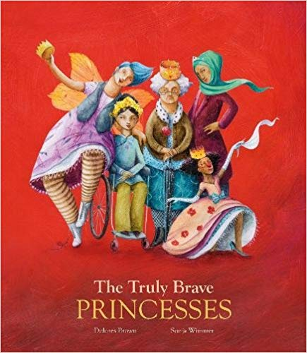 The Truly Brave Princesses cover