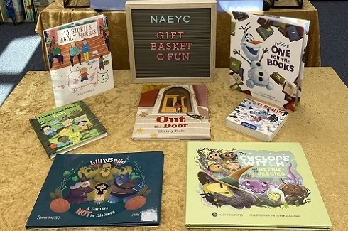 NAEYC gift basket