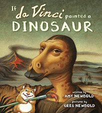 If da Vinci Painted a Dinosaur cover