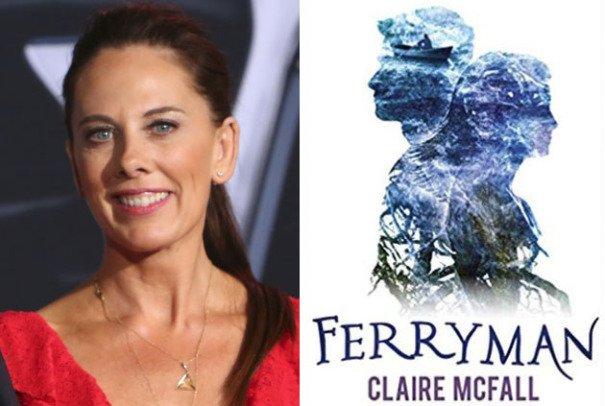 Ferryman cover and Kelly Marcel