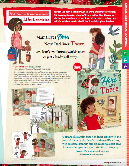here and There catalog page