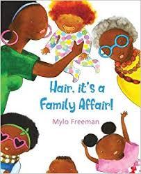hair, It's a Family Affair US cover