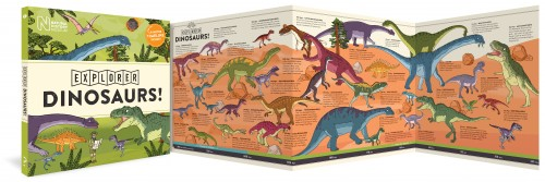 Let's Explore Dinosaurs cover