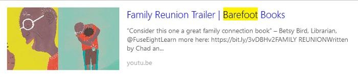 Book Trailer for Family Reunion