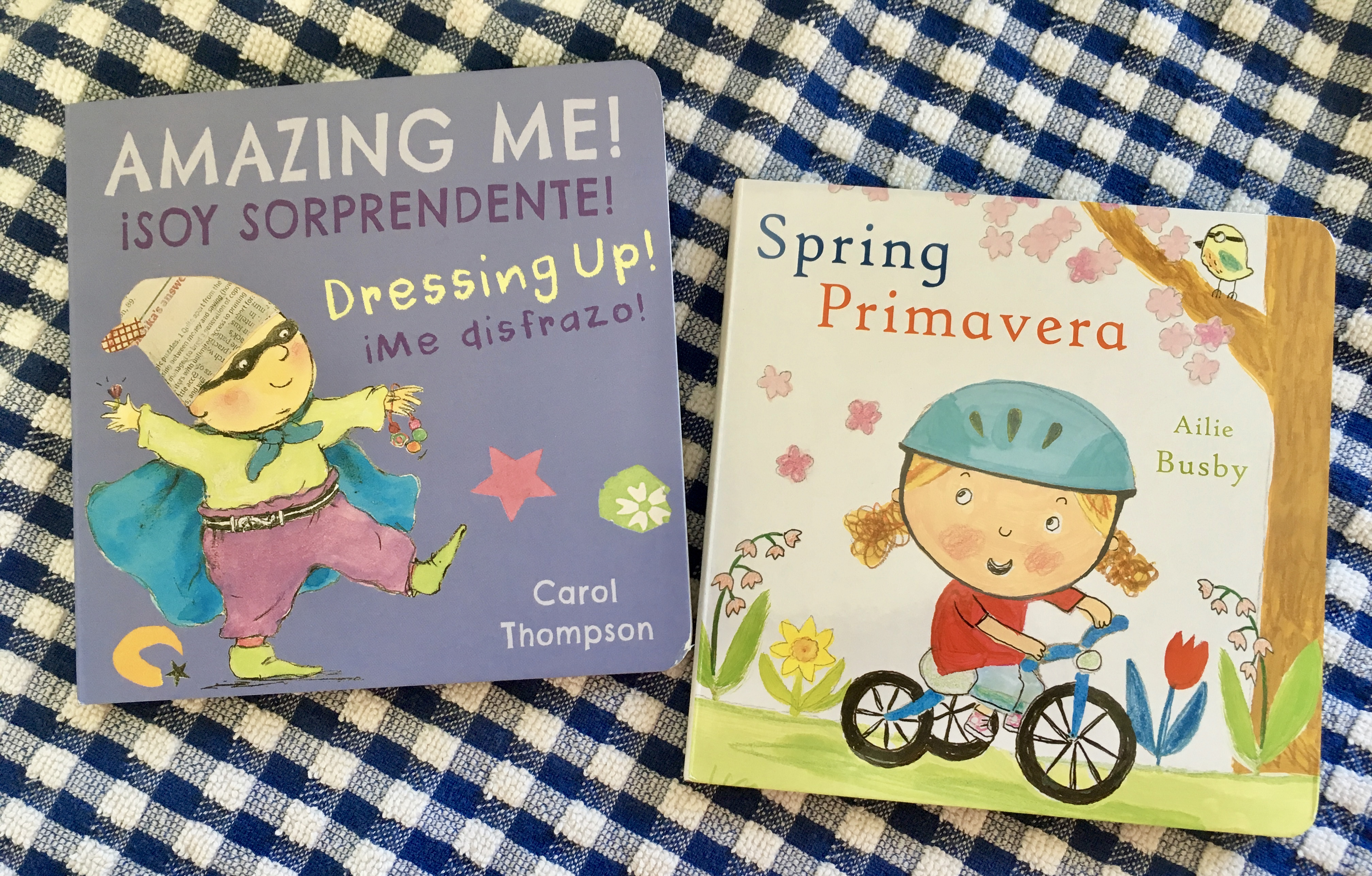 Spring/Primaver and Amazing Me Dressing Up covers
