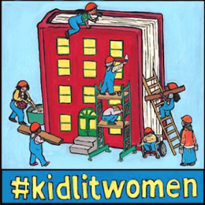 #KidLitWomen graphic from https://womenintranslation.com/2018/03/30/kidlitwomen-celebrating-women-in-translation/