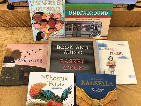 Book & Audio Basket o'Fun