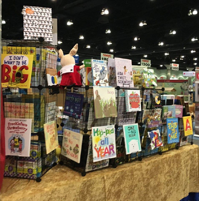 Publisher Spotlight booth