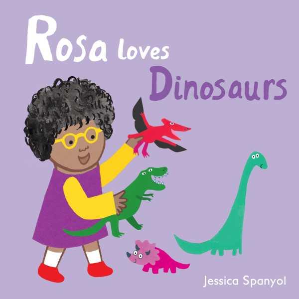 Rosa Loves Dinosaurs cover